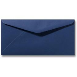 enveloppen donkerblauw 11 X 22 cm