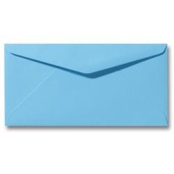 enveloppen oceaanblauw 11 X 22 cm