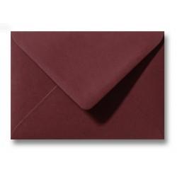 enveloppen donkerrood 11 X 15,6 cm