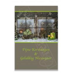 Groen met raam