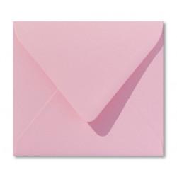 enveloppen donkerroze 12,5 x 14 cm