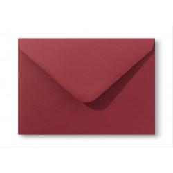 enveloppen vintage retrorood 12,5 X 17,6 cm