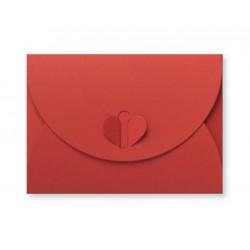 envelop met hartsluiting 8 x 11,4 cm