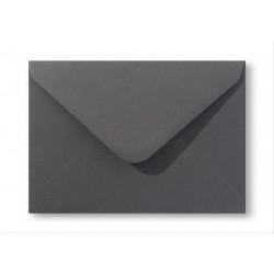 enveloppen vintage Antracietgrijs 12,5 X 17,6 cm