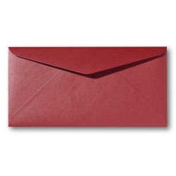 enveloppen metalic Rosso11 X 22 cm